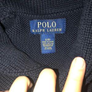 Polo by Ralph Lauren Shirts & Tops - Navy Blue Ralph Lauren Shawl Sweater